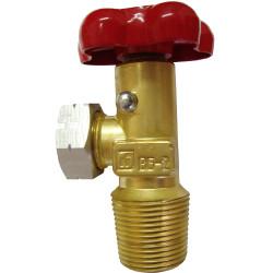 Вентиль баллона для сжиженных углеводородных газов ВБ-2 / 4401